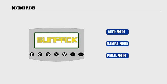 کنترل پنل دستگاه banding pack